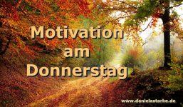 Motivation am Donnerstag