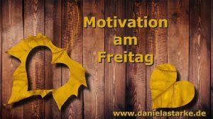 Motivation am Freitag - DANKE