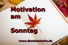 Motivation am Sonntag